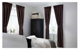 ikea brown curtains with tie backs 98