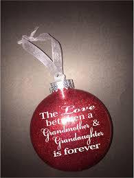 grandmother ornament gift for grandaughter