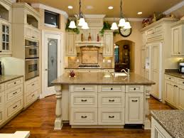 wood floor kitchen country antique white kitchen cabinets rustic