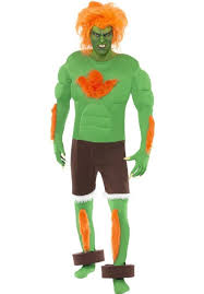 street fighter blanka costume escapade uk