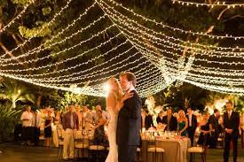 wedding lighting ideas 65 breathtaking string bistro lighting wedding ideas you must see