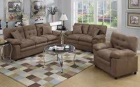Molly Microfiber Living Room Set - Microfiber living room sets
