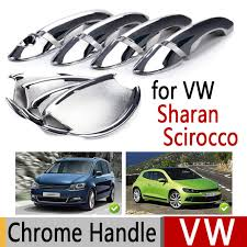 Chrome Exterior Door Handles Sale For Vw Sharan Scirocco Luxurious Chrome Exterior Door