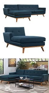 Vintage Modern Sofa Mid Century Modern Sectional Chaise Sofa Chaise Sofa Mid