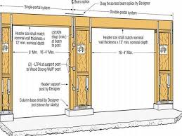 dimensions of a 2 car garage proper measure for standard 2 car garage size dimensions homes network