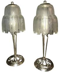 table lamps art deco lamp shades spectacular faceted art deco