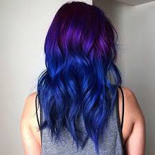 black hairstyles purple 25 amazing blue and purple hair looks stayglam