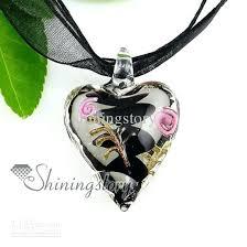 glass necklace pendants wholesale images Blown glass pendant necklace like this item blown glass pendant jpg