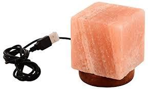 what size himalayan salt l mogul usb mini cube himalayan salt size 10x 10 x 12 cm amazon in