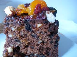 a recipe chocolate orange christmas fruit cake london foodie in