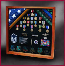 Military Flag Frame Military Shadow Boxes For Retirements