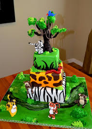 Favorito Safari Cakes – Decoration Ideas | Little Birthday Cakes #UQ88