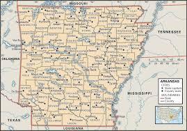 Texas Map Cities Amazing Arkansas Map Cities Emaps World