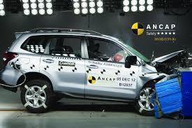 subaru minivan 2013 subaru forester volvo v40 and opel corsa score ancap 5 stars