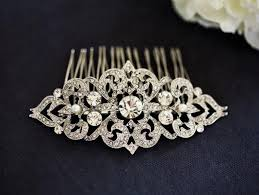 vintage comb nouveau bridal hair comb wedding hair