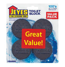 Jeyes Fluid Patio Cleaner by Jeyes Toilet Block Original 4 X 45g Lowest Prices U0026 Specials