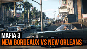 Map To New Orleans by Mafia 3 New Bordeaux Vs New Orleans The City That Inspired The