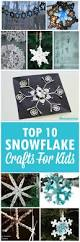 top 9 snowflake crafts for preschoolers and kids hiver