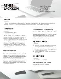 Customer Service Rep Resume Sample Best Resume Example 2017 Resume 2017