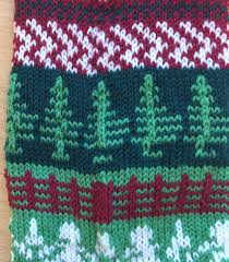 ad hoc christmas stocking recipe u2013 fabulous machine knitting