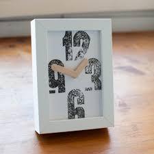 rustic letterpress design clock rustycity com u2013 handmade rustic