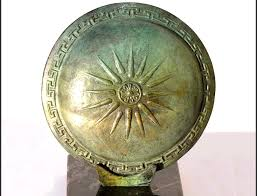 armour weapons shields macedonian shield with vergina
