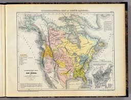 Nord America Map by Ethnographic Map Of North America