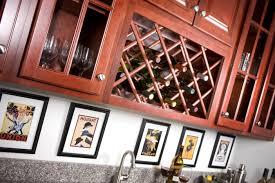 wine rack kitchen cabinet kitchen cabinets in crystal river kitchen remodeling kitchen