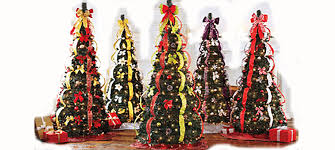 6ft christmas tree flat to fabulous fully decorated pre lit 6ft christmas tree