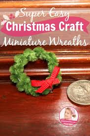 easy craft miniature wreaths a slob comes clean