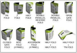 6 panel brochure template different brochure folds renanlopes me