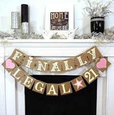 decorating ideas for 21st birthday party beautiful home design