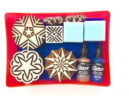 christmas glitter star