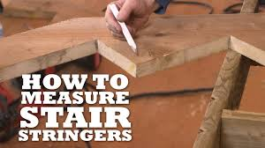 2 Step Stair Stringer by How To Measure Stair Stringers Youtube