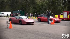 458 spider speciale 458 speciale powerslides and race vs 458 spider