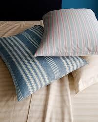 pajama stripe flannel bedding garnet hill