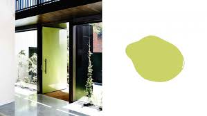cool colour ideas for your front door