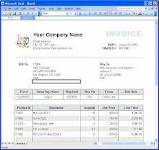 Excel Invoice Template 2003 Simple Invoice Mac Rabitah