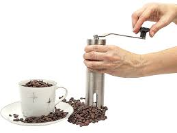 Manual Coffee Grinders Deluxe Manual Coffee Grinder Set By Bar Brat Complete Set With
