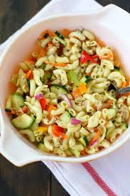 pasta salad with mayo simple macaroni salad recipe without mayo the pretty bee