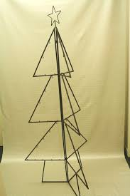 184cmh metal foldable tree shape for hanging balls large display