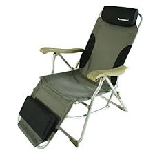 amazon com onwaysports aluminum frame reclining chair with