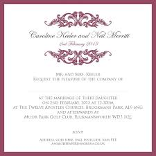 wedding card exles wedding invitation wording guide inspirational sle civil