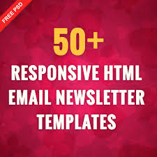 Html Email Template Responsive by 50 Responsive Html Email Newsletter Templates Freepsdhtml