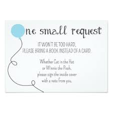 Bring Book Instead Of Card To Baby Shower Baby Shower Book Request Cards Invitations Greeting U0026 Photo