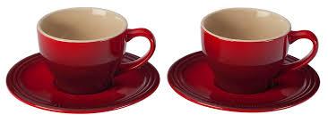 le creuset cappuccino cups