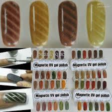 lastest fantasy cool nail art magnetic magnet uv gel polish