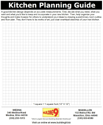 kitchen planning guide page 1 of 2 of our kitchen planning guide