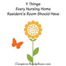 Things Every House Should Have Visiting A Nursing Home