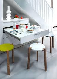 table cuisine pivotante meuble cuisine avec table escamotable desserte billot meuble de